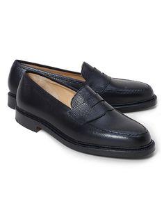 Black Fleece Pebble Penny Loafer