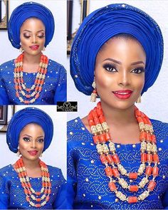 #asoebispecial #asoebi #speciallovers #makeup #wedding  Glam @adornedbyjoy  Beads @fab_and_stylish  Asooke @ykarisfashion
