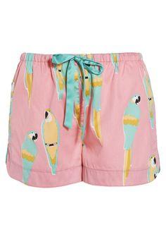 Pink Parrot Short from Peter Alexander