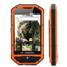 (M) 4 Inch Rugged Android Phone – Sabre-Tooth II (M) | Monastiraki Shop