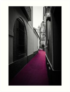 Red Carpet - Art Prints of this wonderful view from #Seville, Spain on my #RedBubble store: