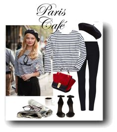 """""""Paris Cafe"""" by dauchka22 ❤ liked on Polyvore featuring Saint James, Isabel Marant, women's clothing, women's fashion, women, female, woman, misses and juniors"""
