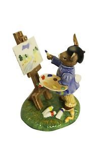Royal Doulton Bunnykins Budding Artist Figure NEW Boxed Royal Doulton, Wonders Of The World, Easter, Characters, Christmas Ornaments, Holiday Decor, Artist, Handmade, Ebay