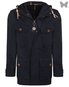 Barbour Heritage Men's Ranger Casual Jacket - Navy MCA0294SNY71 | Country Attire