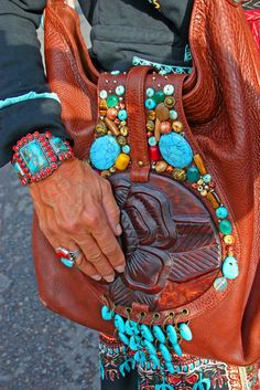 ( - p.mc.n.) Jewelry and Style on the Streets of Santa Fe