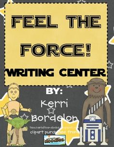 Students will love using these STAR WARS themed Writing Mats in Literacy and Writing Centers. Colorful pictures, along with vocabulary words, are t...