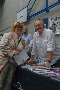 Peter Davison approved outfit
