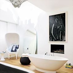 A freestanding tub is the most luxurious in my book.