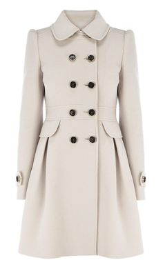 Classic Investment Coat with Full Skirt