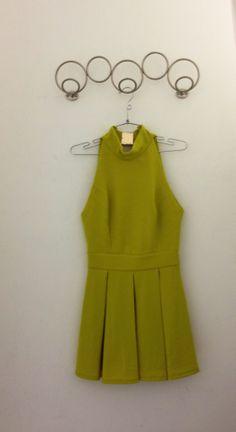 Green Dress, front.