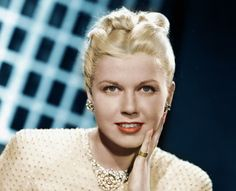 Doris Day.  The perky blonde with freckles had a beauitufl singing voice.