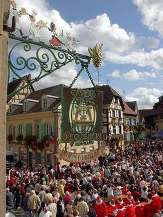 50ème Fête des Vignerons dEguisheim