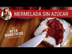 Mermelada SIN AZÚCAR de frutillas / Recetas aptas para diabéticos- Paulina Cocina - YouTube