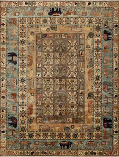 This rug is from our India Vegetable-Dye collection - carefully chosen antique Indian, Persian, and Turkish designs, hand-crafted in the traditional art of rug weaving. These beautiful rugs capture all the charm and character of the original classics. Using the finest materials, each unique piece is made with long-staple New Zealand wool that is 100% vegetable-dyed. Available in a wide variety of sizes, patterns and colors. Click to view more.