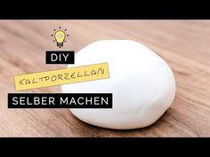 DIY Kaltporzellan I Deko Ideen I Crafts for Kida I Deutsch - Finola 2015 - YouTube