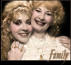 Stevie Nicks and her Mom| ... the tambourine to hear Stevie talk about her Grandfather A.J. Nicks