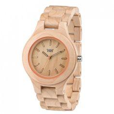 meine WeWood Armbanduhr