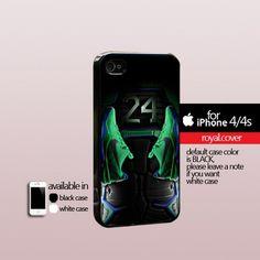Kobe Bryant Nike Shoes - Print Hard Cover For iPhone 4/4S