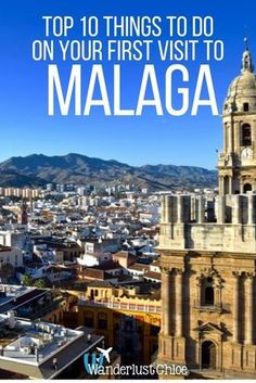 Malaga, Spain: Top 10 Things To Do On Your First Visit. Malaga on Spain's Costa Del Sol is a buzzing city with more history, culture and great food than many cities put together. Find out the top things to do on your first visit. | devourmalagafoodtours.com/tours?utm_content=buffer7fc60&utm_medium=social&utm_source=pinterest.com&utm_campaign=buffer