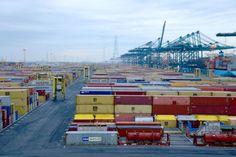 Hafen Antwerpen mit neuen Umschlagsrekorden - http://www.logistik-express.com/hafen-antwerpen-mit-neuen-umschlagsrekorden/
