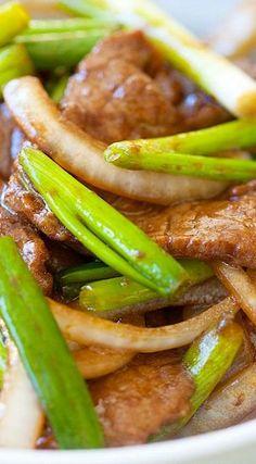 Onion Scallion Beef