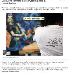 """Artículo publicado en el medio de referencia del sector eventos """"EventoPLUS"""".  http://www.eventoplus.com/noticia/4399/un-nuevo-formato-de-storytelling-para-tu-presentacion/"""