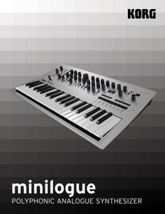 KORG : Minilogue : Polyphonic Analogue Synthesizer