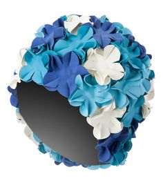 Sporti Flower Swim Cap at SwimOutlet.com - The Web's most popular swim shop