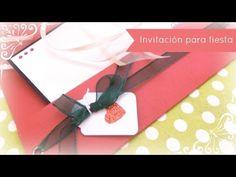 ▶ Cómo hacer una invitación para una fiesta navideña. DN4-2013 - YouTube
