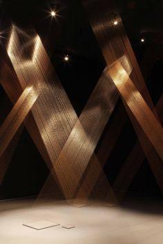 Lygia Pape Ttéia 1, C (Web) 2011 Installation view, Magnetized Space Serpentine Gallery, London © 2011 Jerry Hardman-Jones