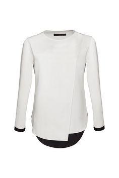 Karl. Batya Asymmetric Shirt