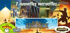 New Art Pack from #7Wonders #boardgame #j2s