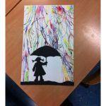 String printing art ideas for kids,preschoolers Printmaking with string art String printing and painting art ideas for kids Autumn Crafts, Autumn Art, Winter Art, Spring Crafts, Art Halloween, Instruções Origami, Art For Kids, Crafts For Kids, Kid Art