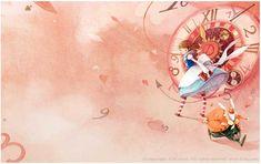 Alice in Wonderland illustration by Kim Min Ji Children's Book Illustration, Watercolor Illustration, Illustration Children, Kawaii Illustration, Storyboard, Kim Min Ji, Alice In Wonderland Illustrations, Hansel Y Gretel, Inspiration Artistique