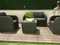 Bristol, Oasis, Outdoor Furniture Sets, Outdoor Decor, Panel, Home Decor, Brick, Walls, Small Yards