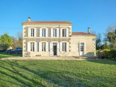 House for sale in ST DENIS DU PIN - Charente Maritime - Exquisit detatched 2 bedroom house with the possibilty to create another 3 bedrooms France REF: 109025DC17 | [12824] Property Prices, Property For Sale, Houses For Sale France, St Denis, 2 Bedroom House, French Property, French Houses, House Styles, Bedrooms
