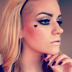 beautiful, mod makeup