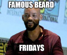 Will Smith Famous Beard #beard #willsmith #beardlife
