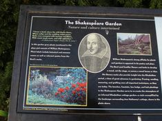 """In the lovely memory of Shakespeare Brooklyn Botanic Garden. It comprised a collection of herbs, flowers, shrubs, and trees. Linetskaya, Yelena. """"Two Shakespeare Gardens."""" Big Apple Secrets, Blogger. Plant Labels, Shakespeare, Botanical Gardens, Shrubs, Brooklyn, Trees, Memories, Apple, Big"""