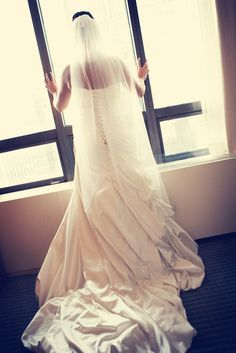 So gorgeous! Photo by Kim #Minnesota #weddings #brides