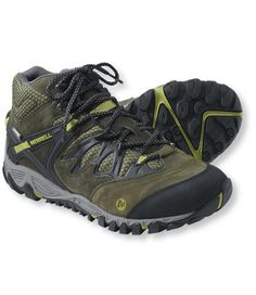 Men s Merrell AllOut Blaze Waterproof Hiking Boots  Men s Hiking  e204413c697
