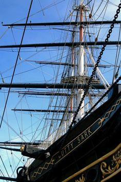 El Cutty Sark, Greenwich. He estado en esta nave increíble, muy interesante