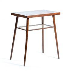 Located using retrostart.com > Side Table by Unknown Designer for Drevopodnik Holesov