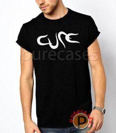 Black TShirt The Cure Rock Band Men T Shirt Tee Rock T Shirts 24b6b34439e