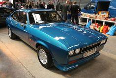 1986 Ford Capri MkIII  - Metallic Blue Custom Classic Cars, Mercury Capri, Ford Capri, Muscle Body, Car Ford, Metallic Blue, Mk1, Aston Martin, Old Cars