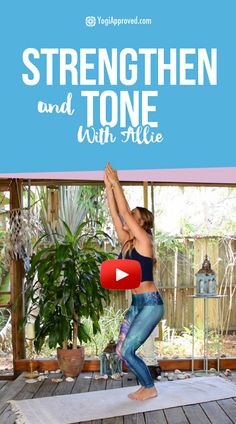10 Yoga Poses to Strengthen and Tone (Yoga Video) | It's no secret that the yoga practice is a body worker.