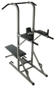 Buy Stamina 1750 Power Tower with Adjustable Weight Bench for Total Body Strength Training Workouts