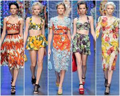 Dolce & Gabbana: Looking Good Enough to Eat | fun fabric