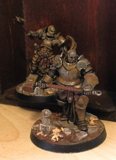 O bryn the Bold, the second member of my version of Steelheart's Champions. Warhammer Figures, Warhammer Paint, Warhammer Models, Warhammer 40k Miniatures, Warhammer Fantasy, Alone Game, Diorama, Stormcast Eternals, Fantasy Model