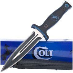 Colt CT350 Double Edged Boot/Belt Knife Dagger | MooseCreekGear.com | Outdoor Gear — Worldwide Delivery! | Pocket Knives - Fixed Blade Knives - Folding Knives - Survival Gear - Tactical Gear